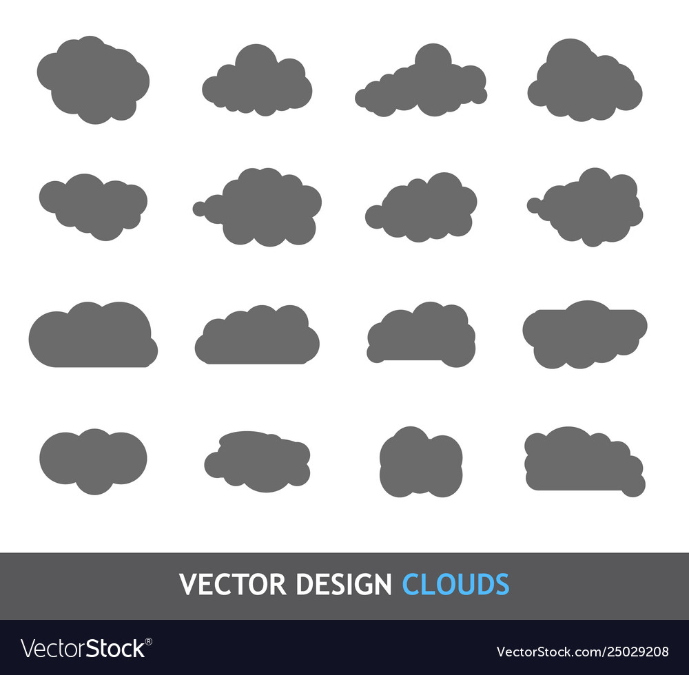 Design elements clouds