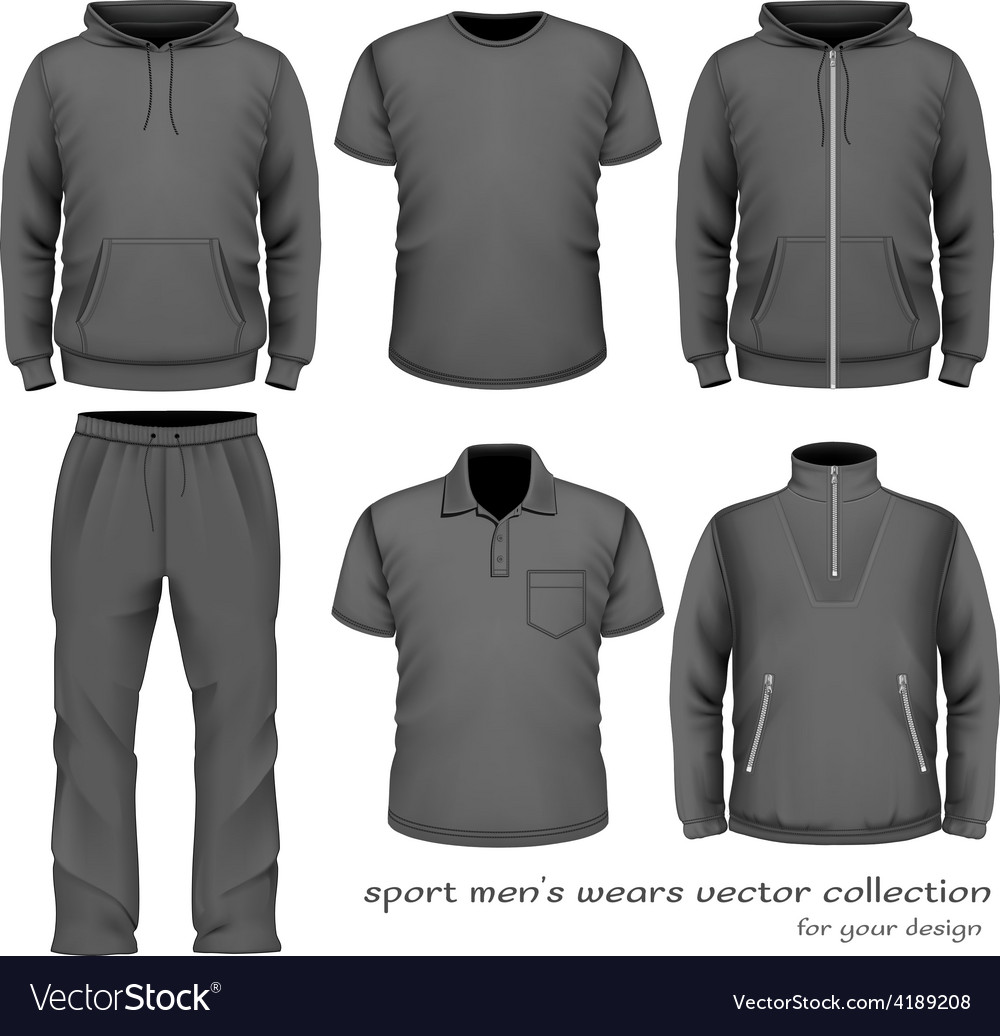 Sport men wear collection