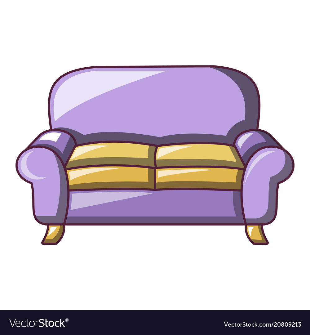 Armchair Sofa Icon Cartoon Style Royalty Free Vector Image