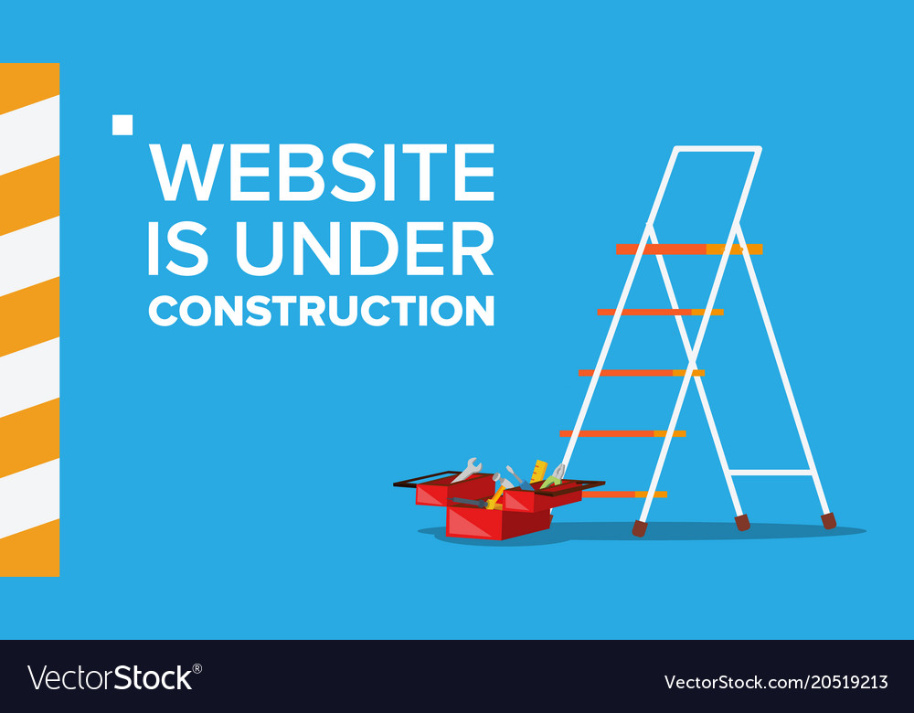 how to make a website under construction page