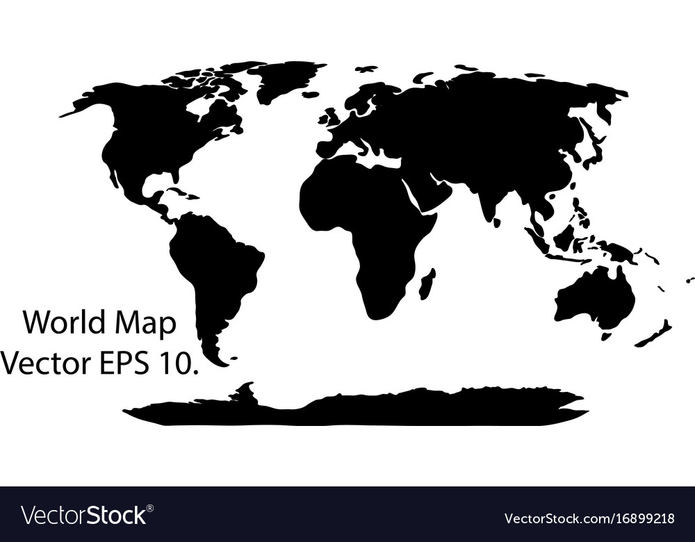 World map earth globe eps 10 royalty free vector image world map earth globe eps 10 vector image gumiabroncs Gallery