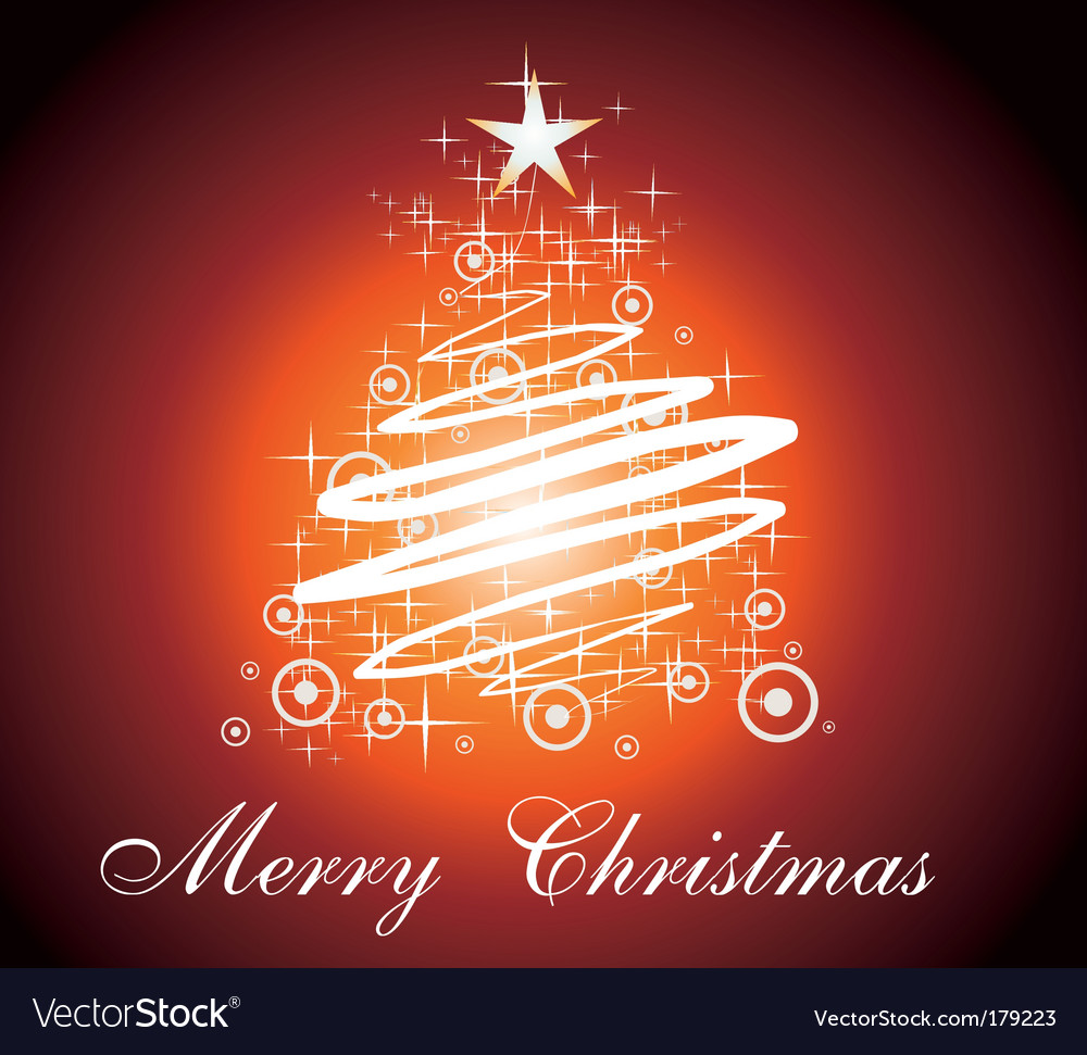 Christmas Card Greetings Royalty Free Vector Image