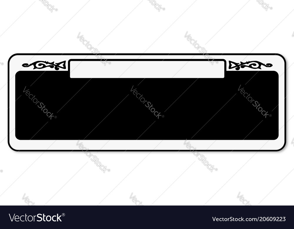 New orleans blank street sign vector image