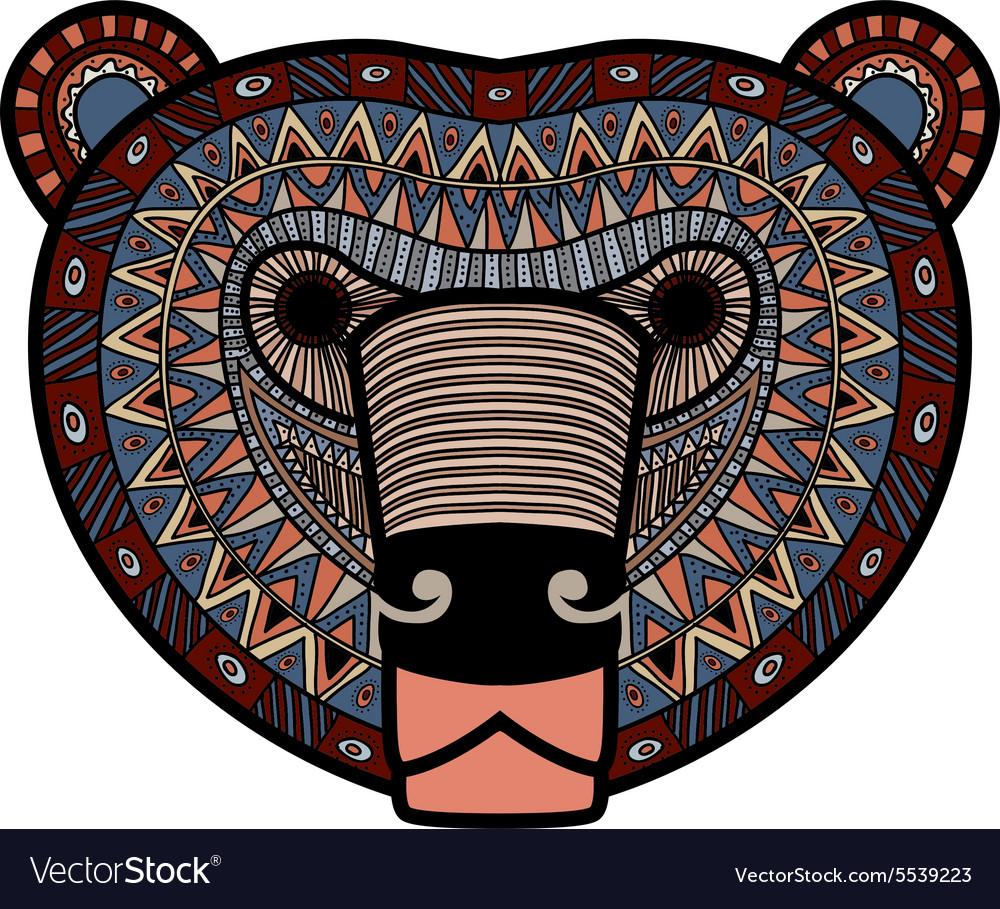 Stylized Bear face