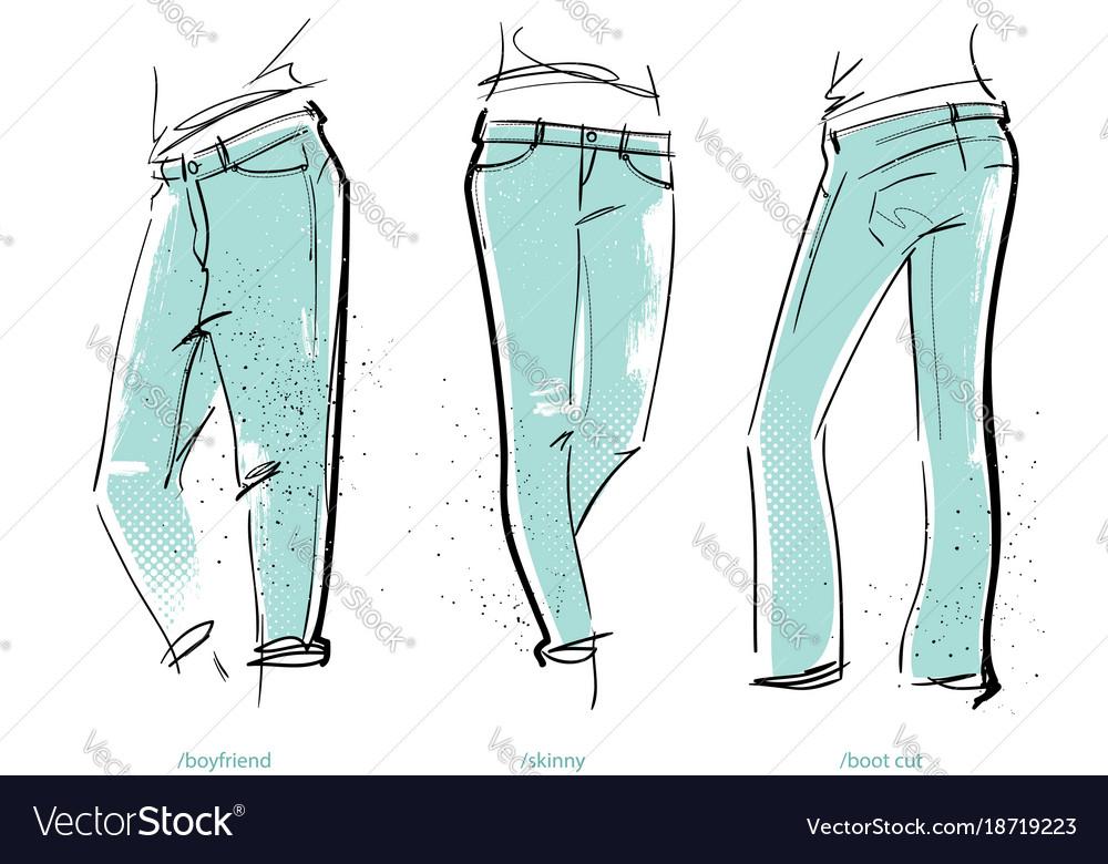 Women jeans fits
