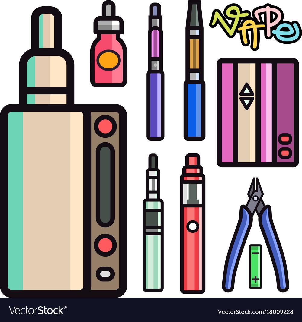 Vape device set cigarette vaporizer vapor