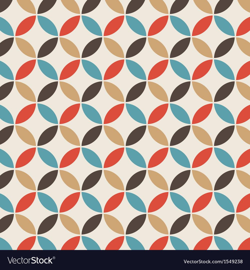Pattern circle vintage
