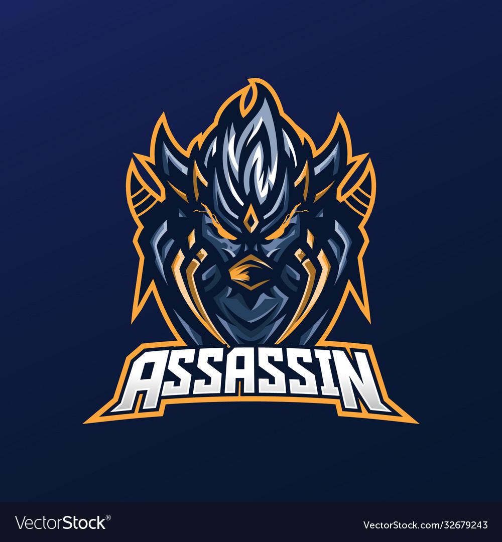 Assassin mascot logo