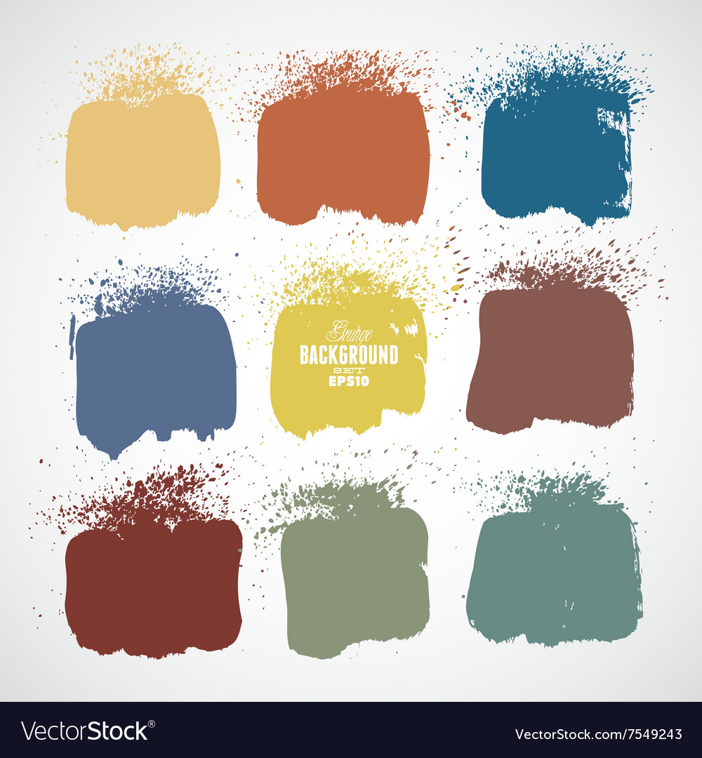 Grunge colorful backgrounds