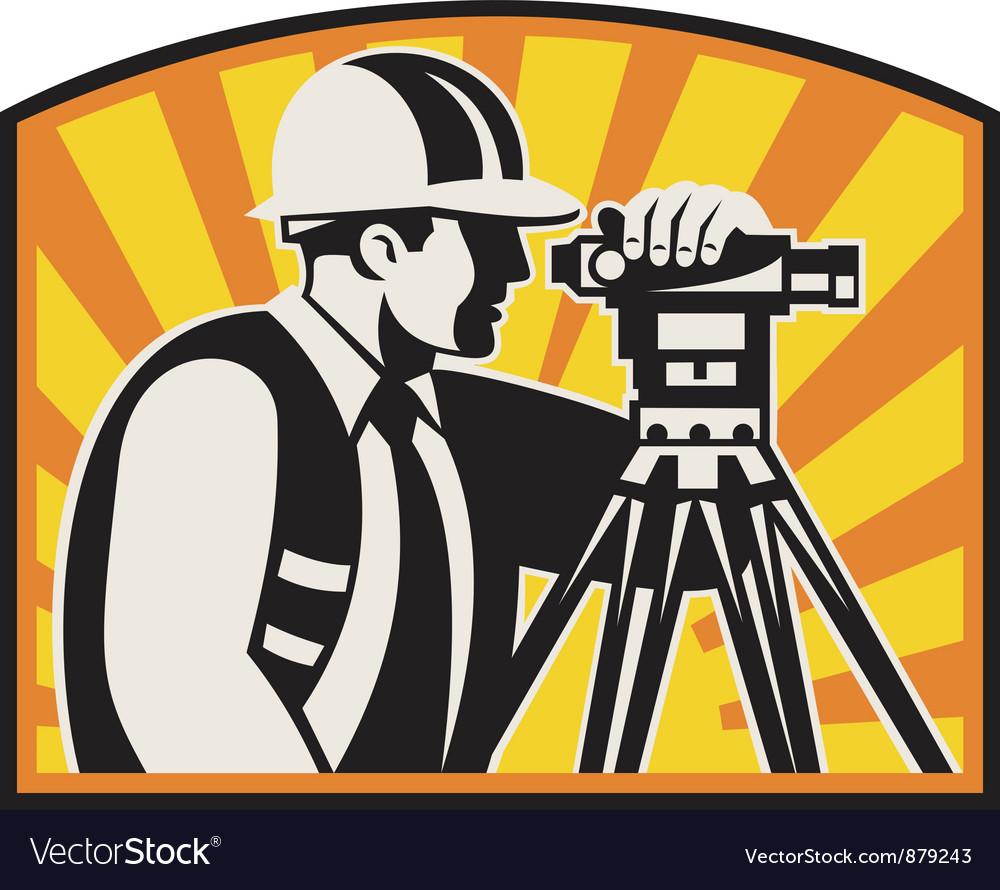 Surveyor Engineer Theodolite
