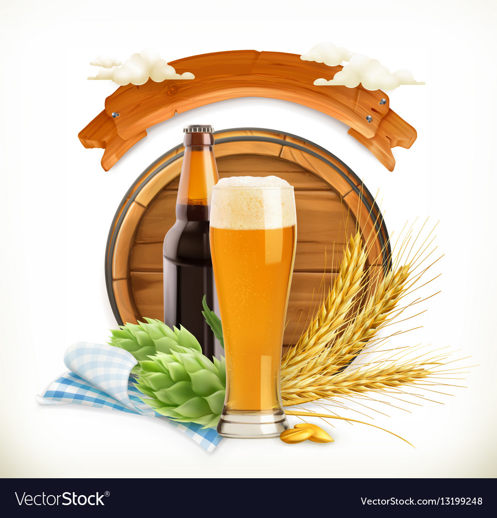 Beer Festival 3d logo