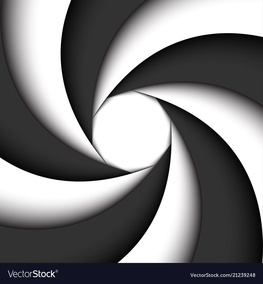 Dark grey and white modern swirl abstract