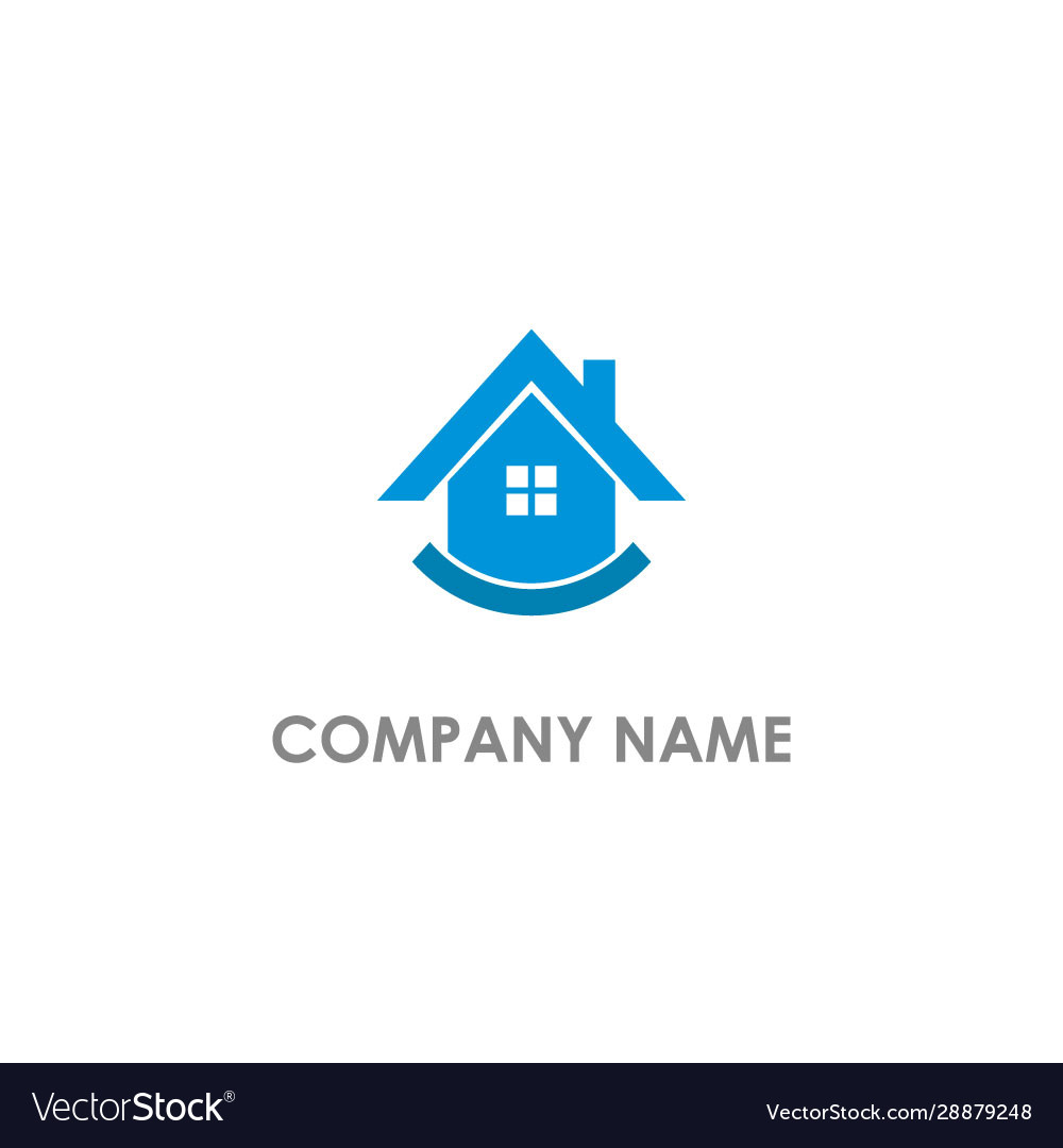 Home realty agent logo