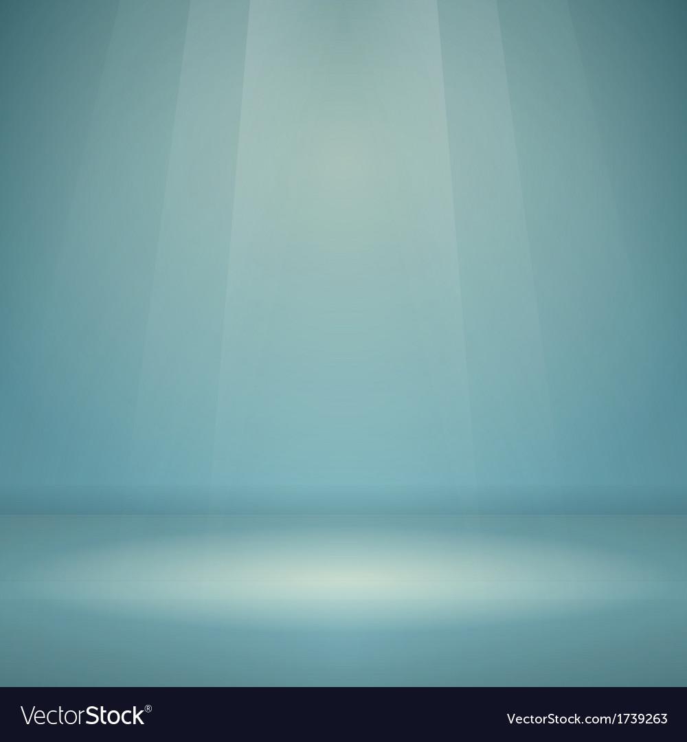 Blue Empty Scene