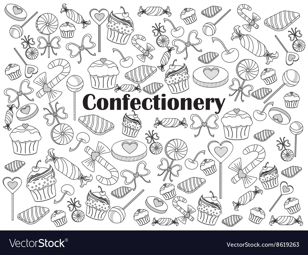 Confectionery colorless set