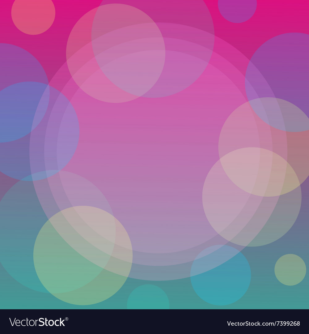 Abstract pattern background with bubbles