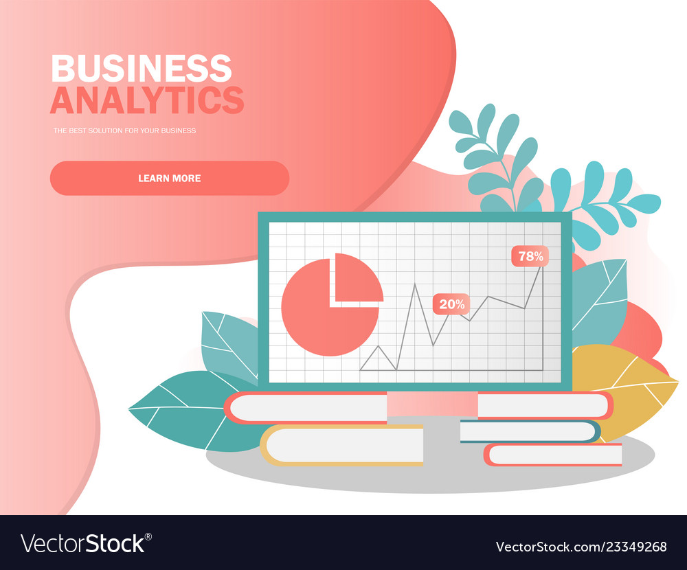 Data analysis concept can use for web banner