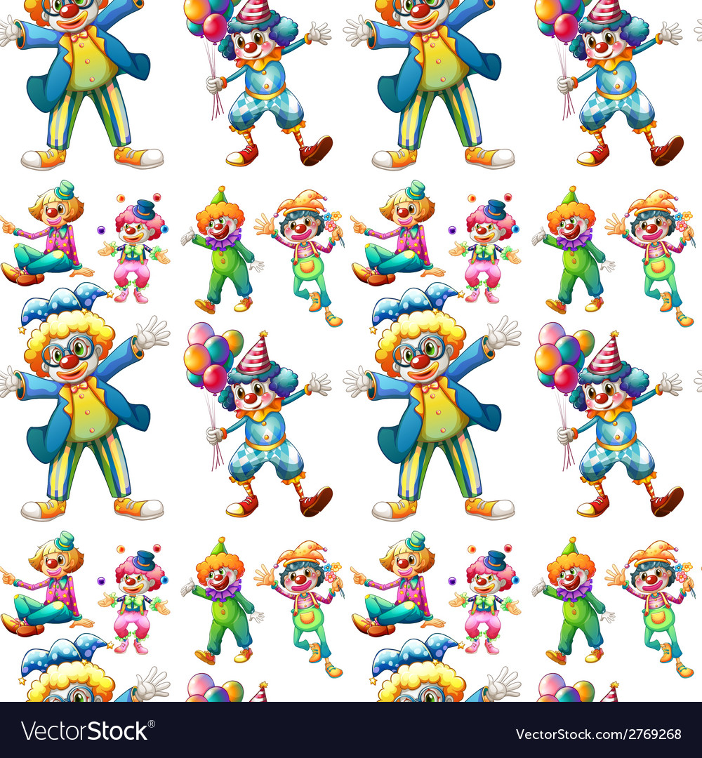 Seamless clowns