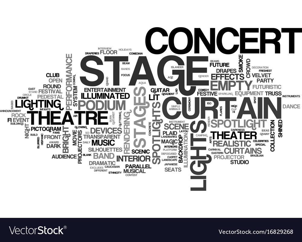 Stages word cloud concept vector image