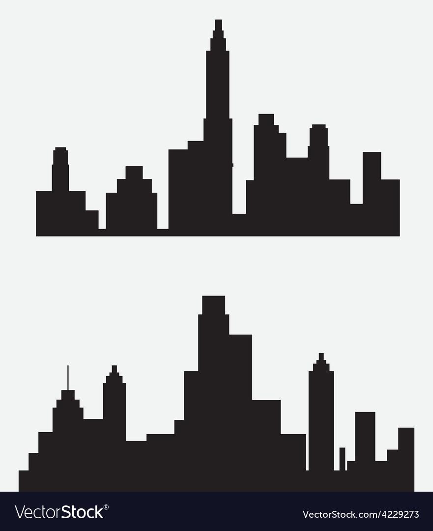 city design royalty free vector image vectorstock rh vectorstock com vector city for commercial use vector cityscape