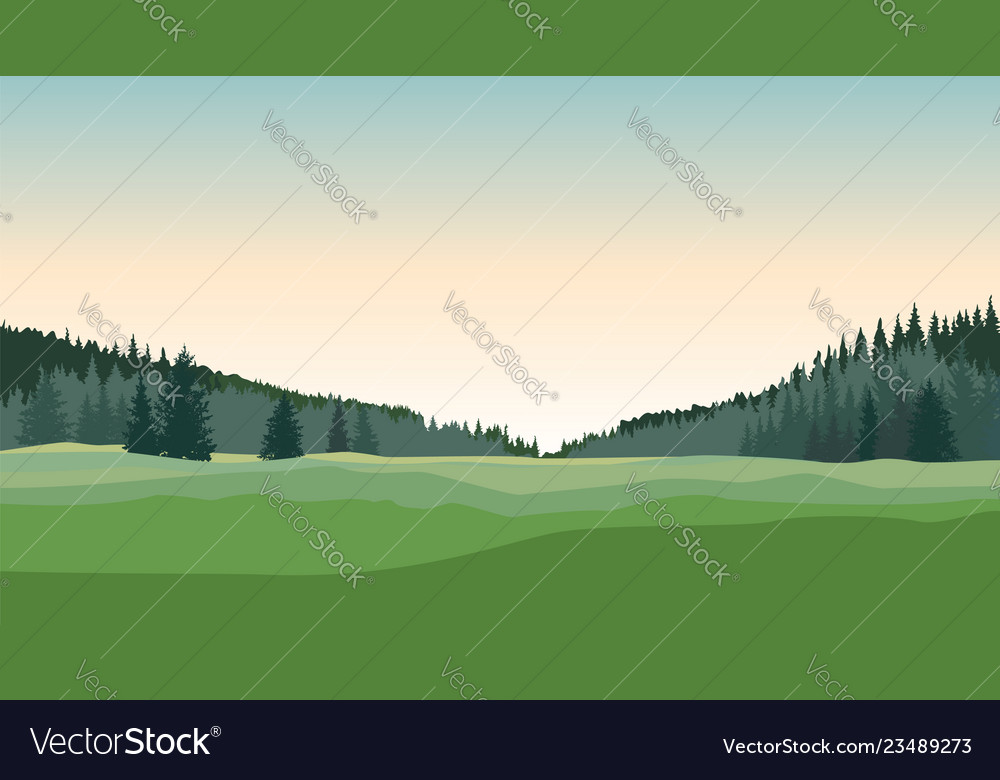 Rural landscape countryside nature skyline