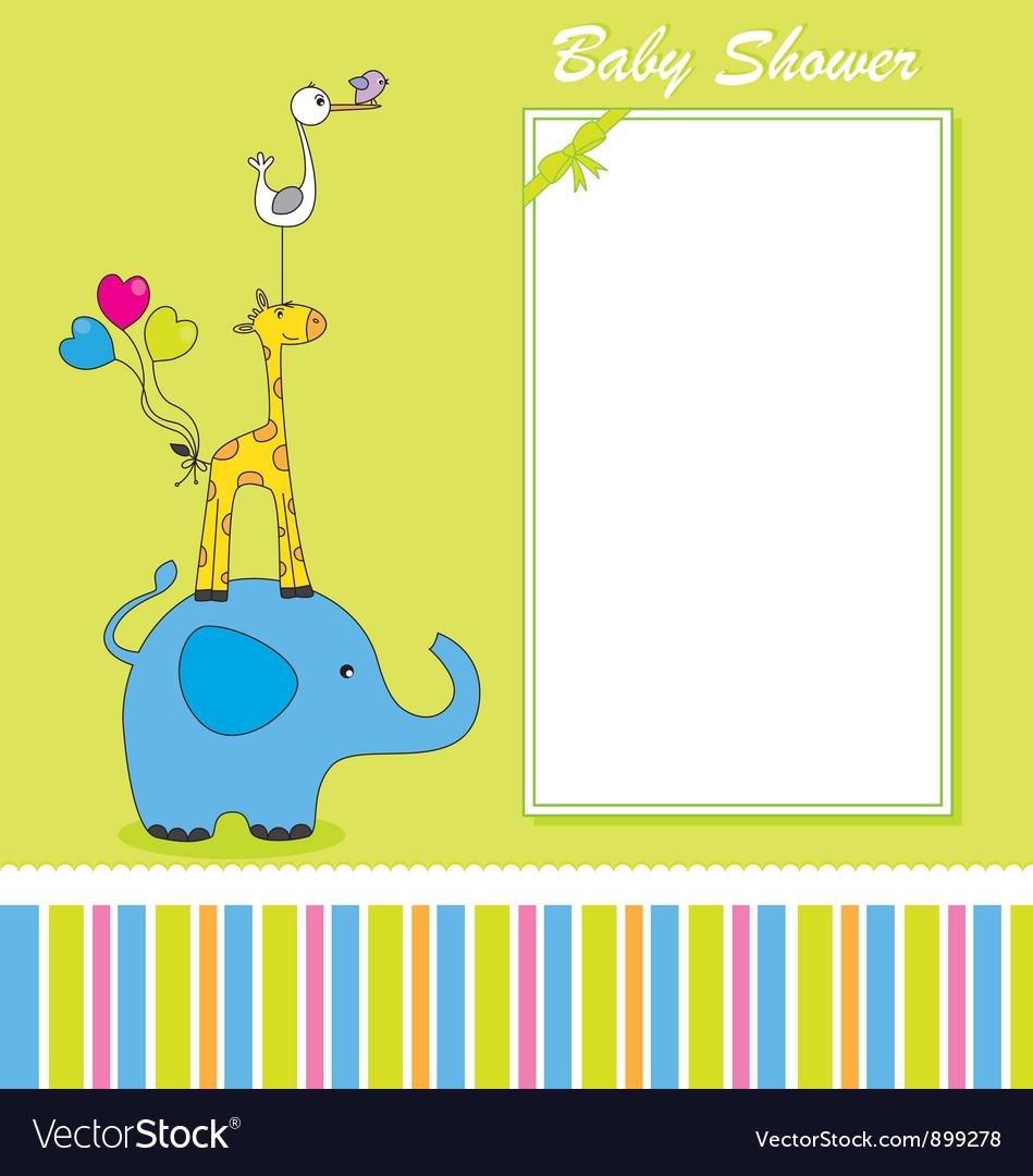 Fun animal card