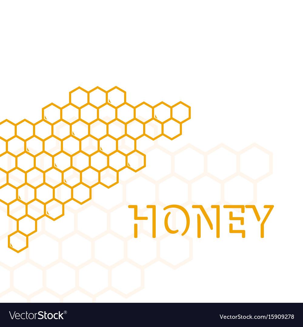 Geometric pattern with honeycomb