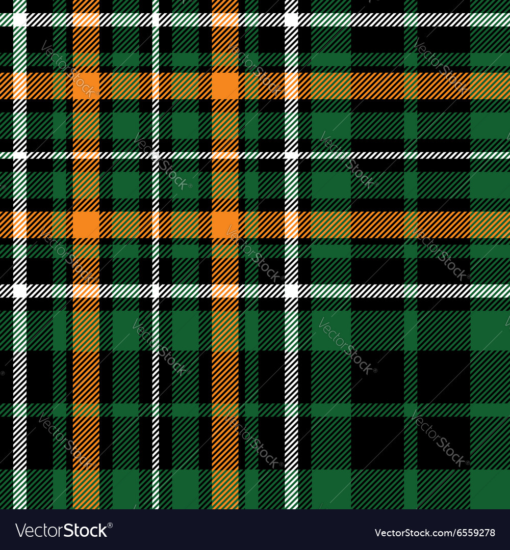 Green tartan celtic fc seamless pattern fabric