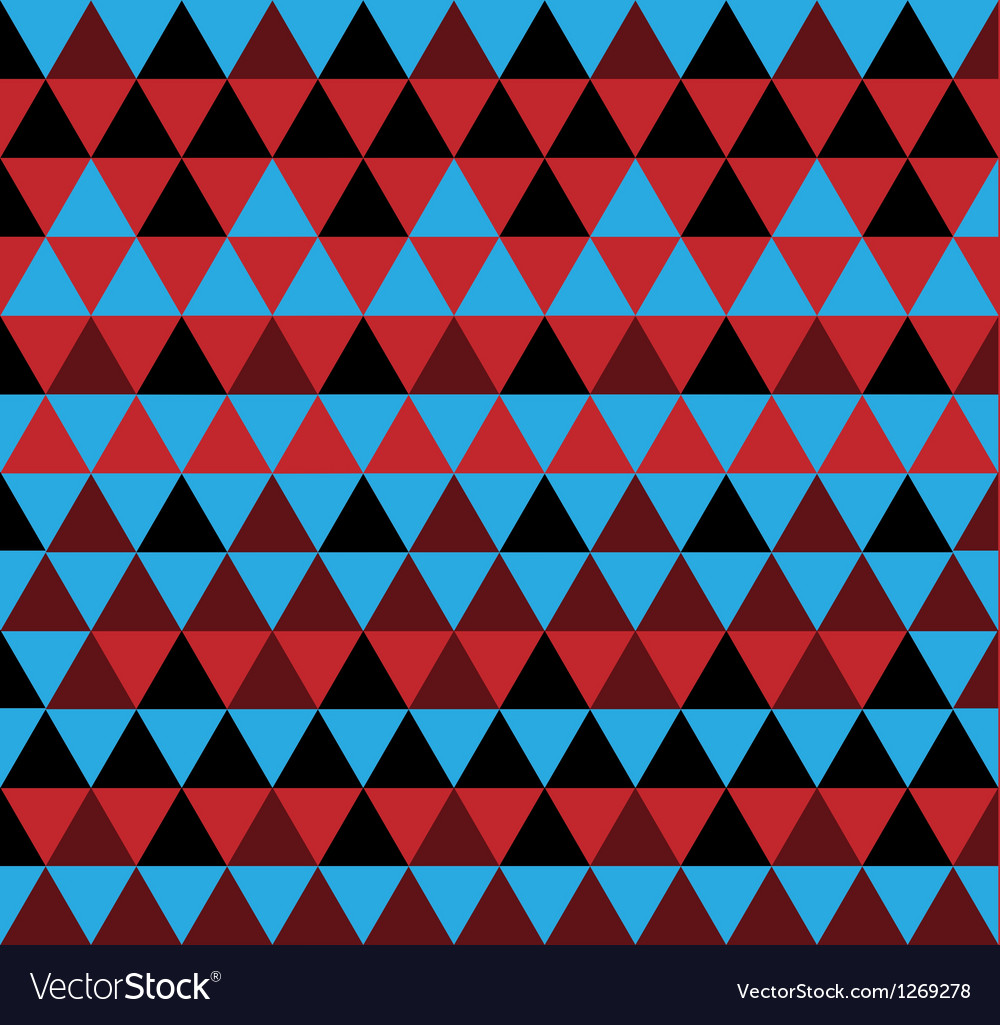 Simple triangle pattern