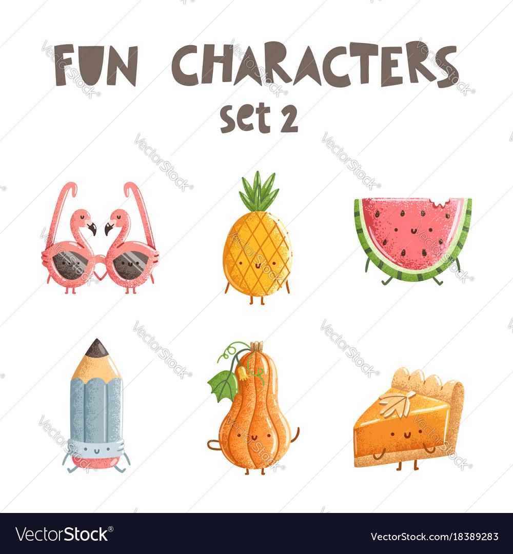 Fun characters set 2