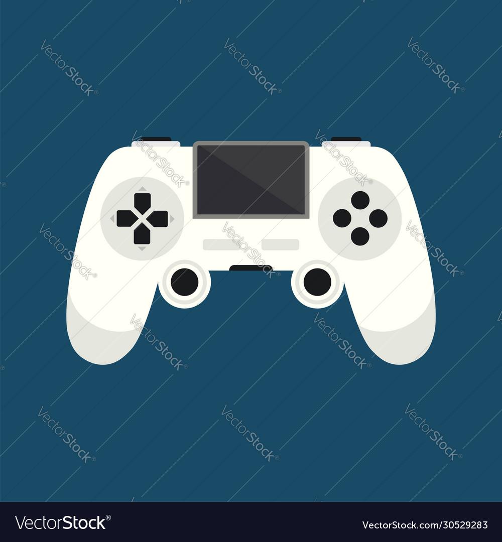 Game controller icon logo template