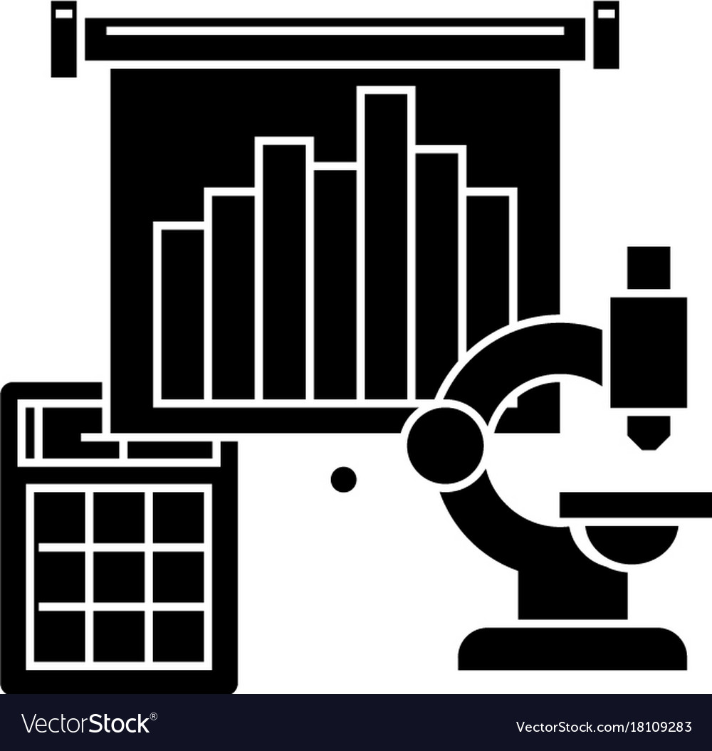Marketing research icon vector image