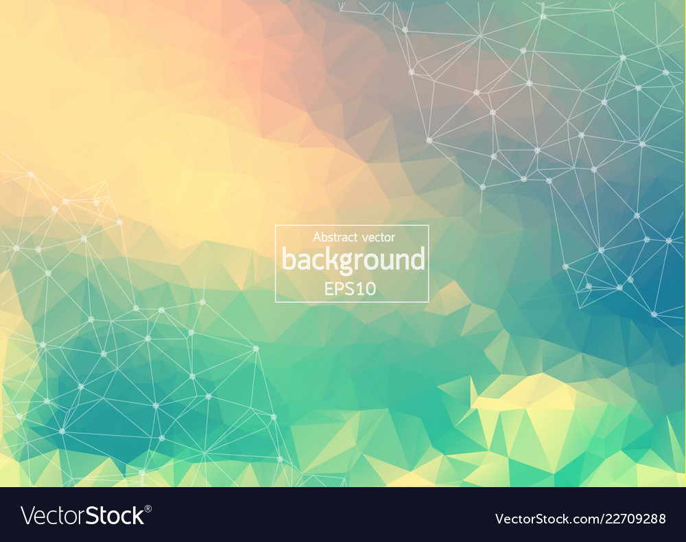 Abstract colorful geometric polygonal background