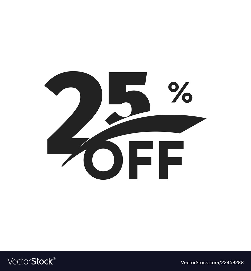 Discount symbol business promotion sticker hot