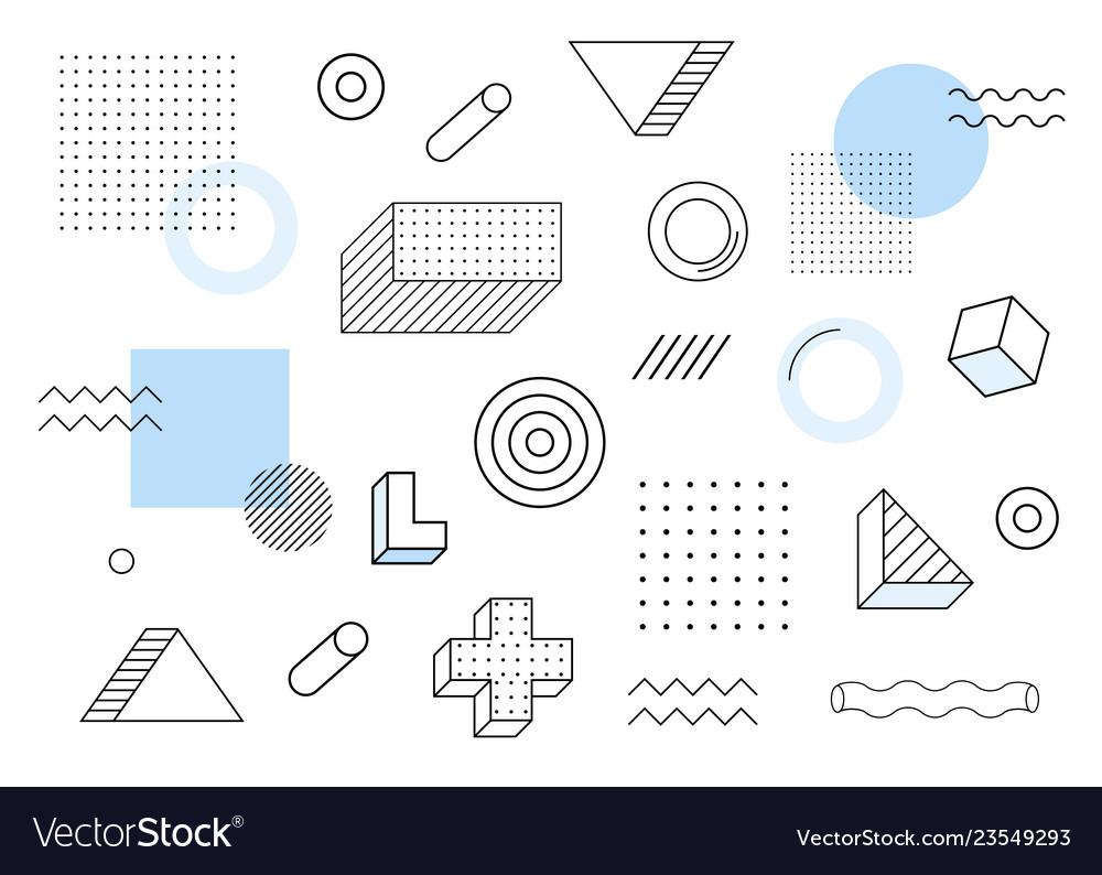 Geometric backgroundhalftone geometric shapes