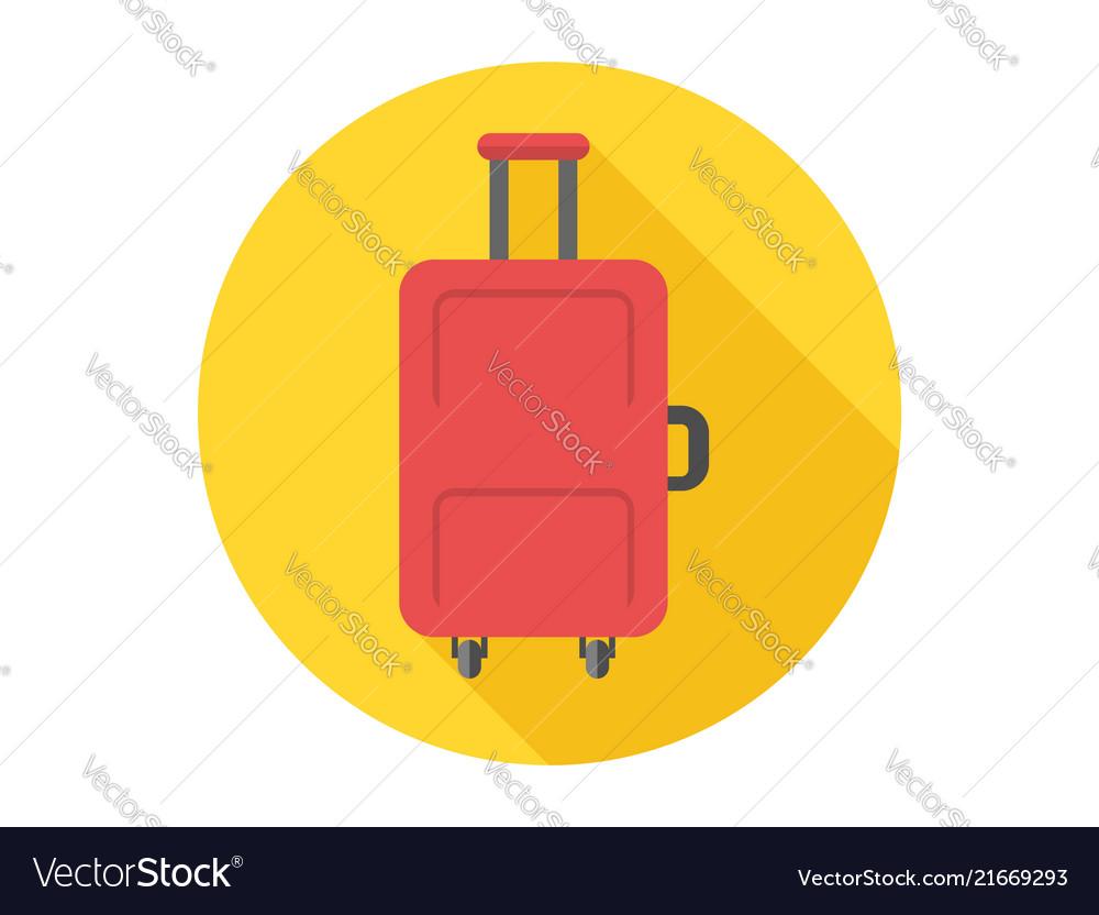 Luggage icon sign symbol