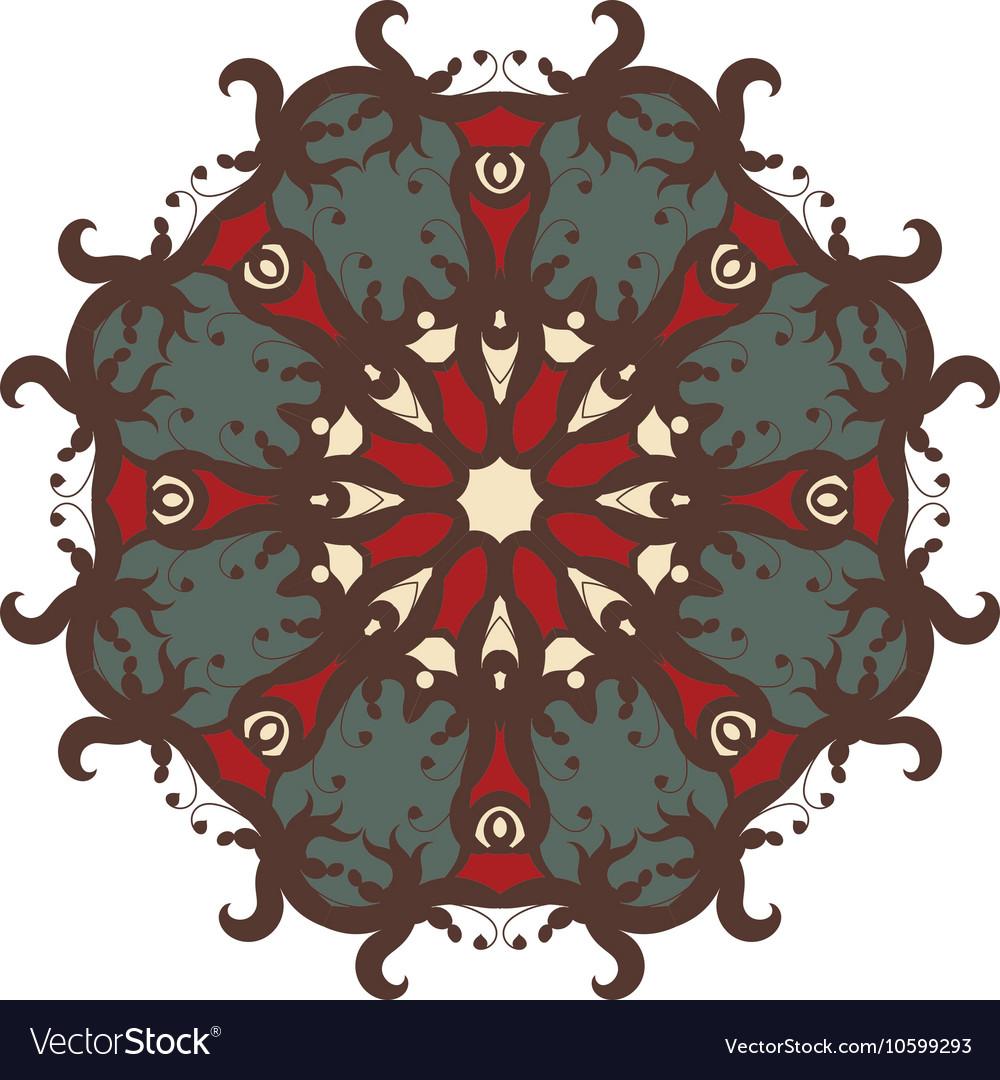 Mandala on isolated background