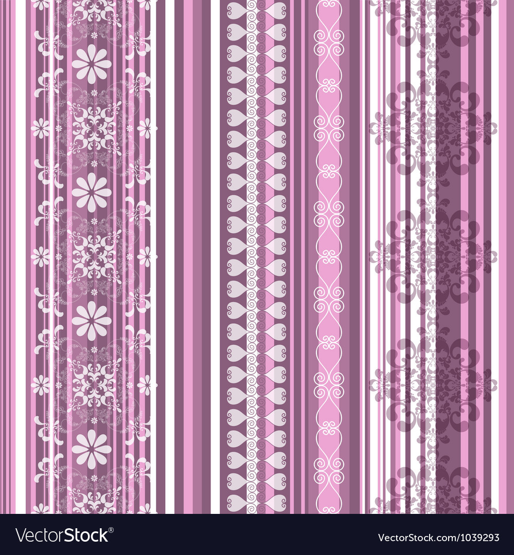 Translucent seamless striped pattern vector image
