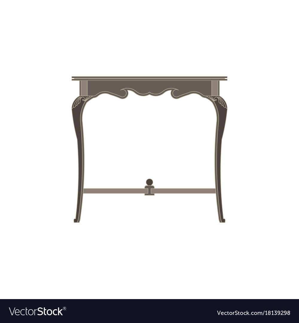 Chair flat icon isolated furniture interior