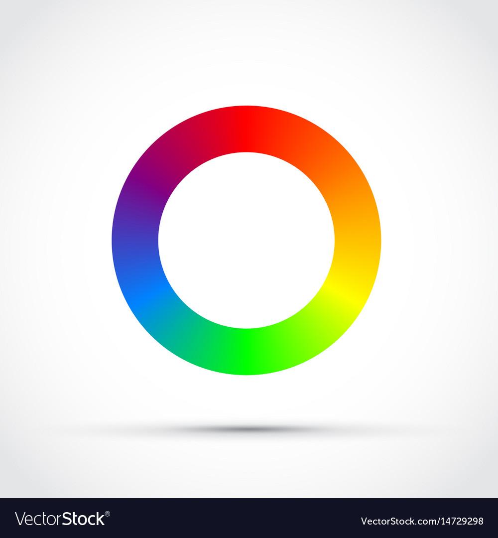 Cmyk round colour selector
