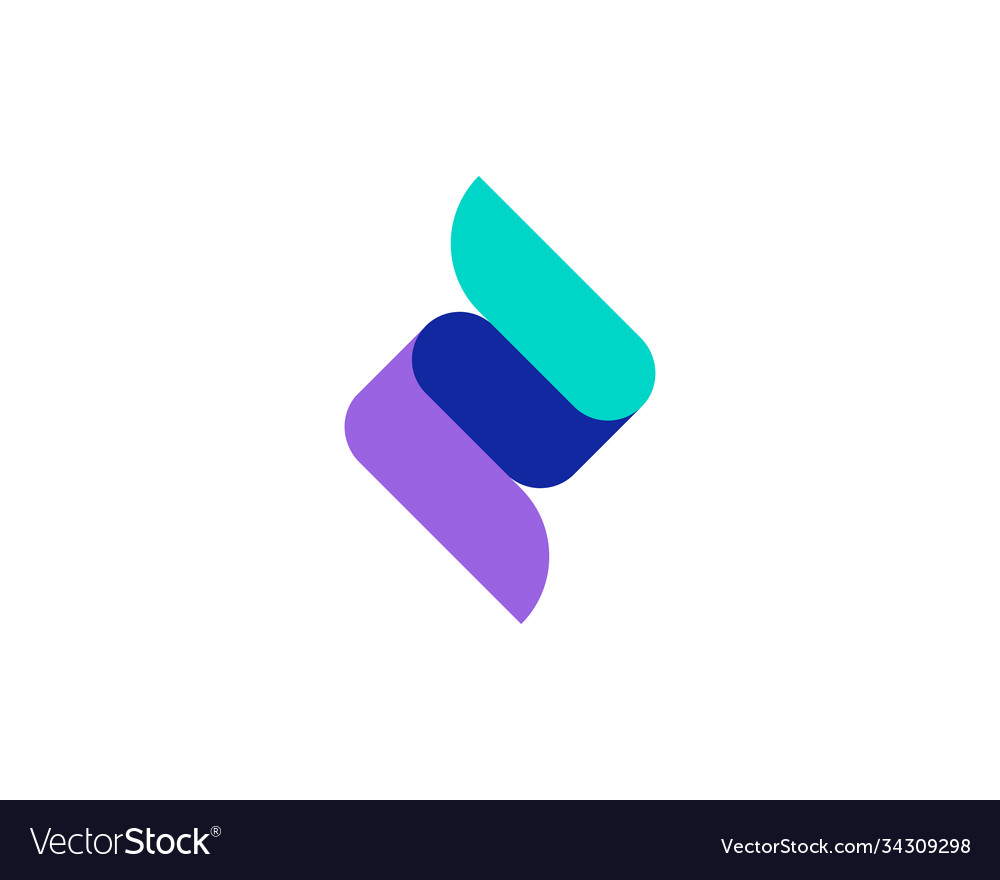 Creative ok like sign logo colorful