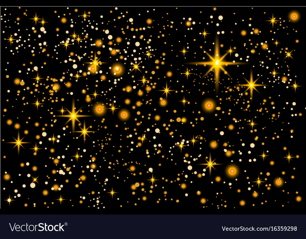 space christmas new year card template with vector image
