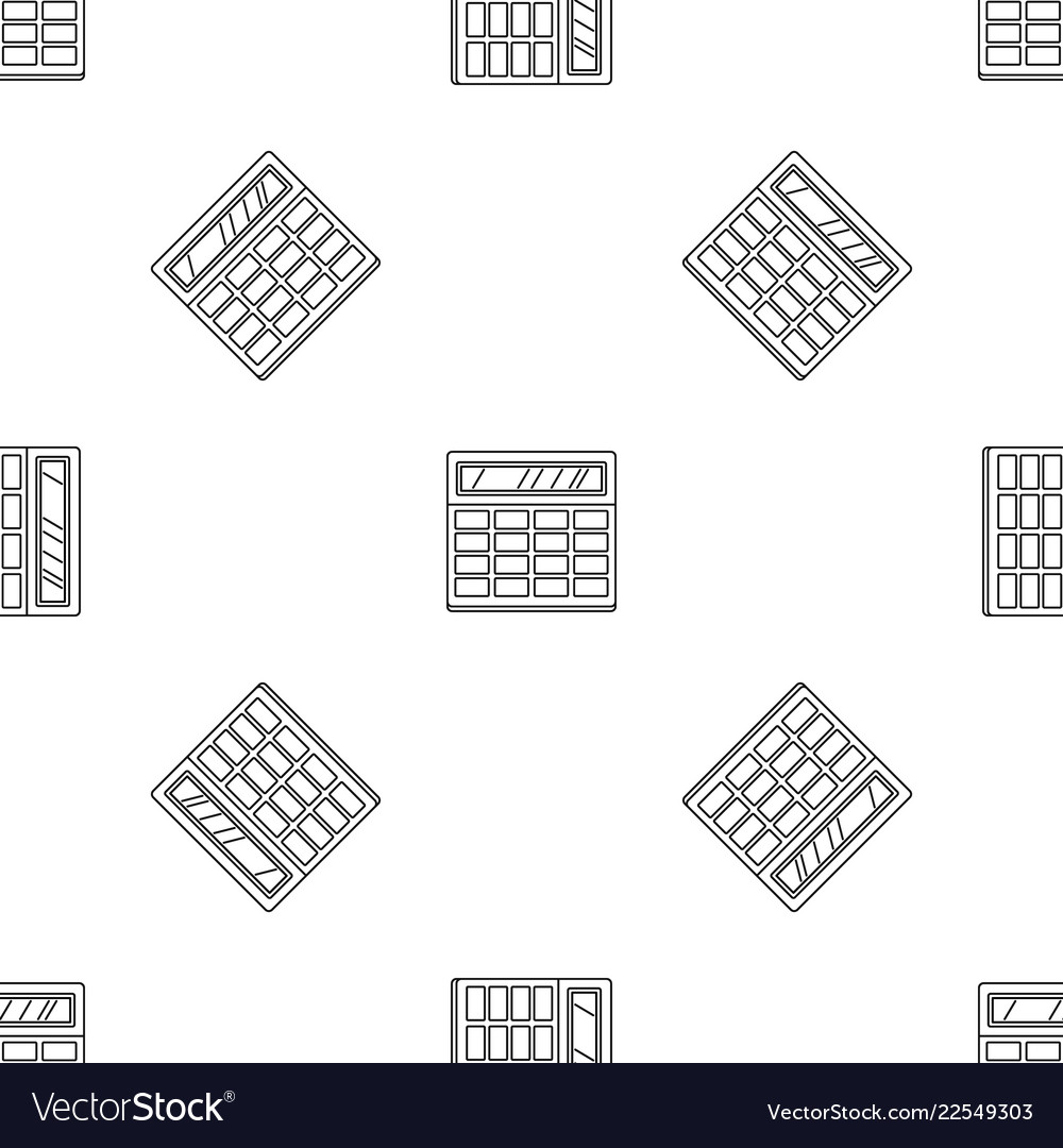 Calculator pattern seamless