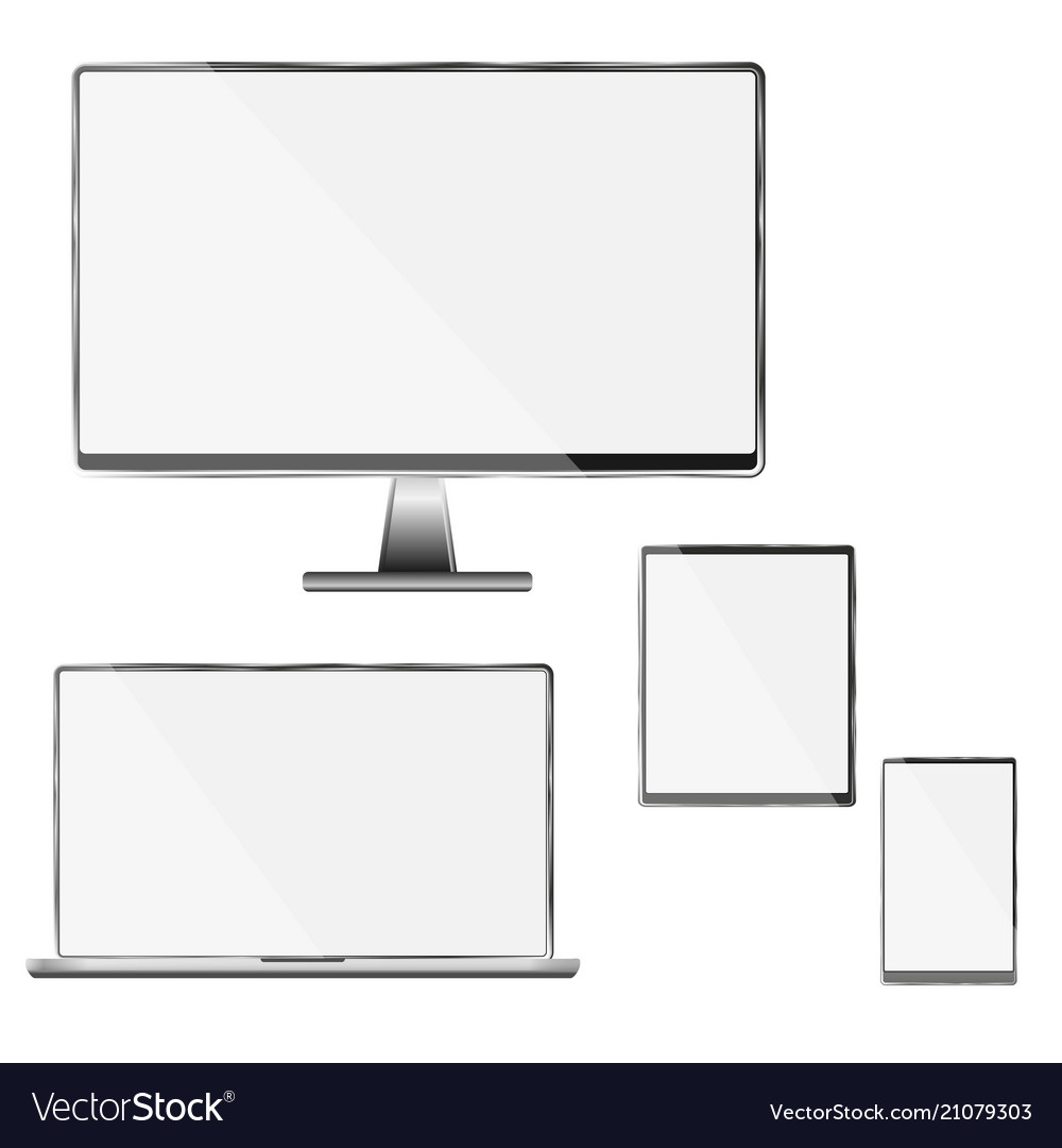 High quality set of white - black mod vector image on VectorStock