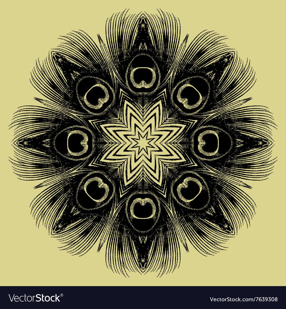 Mandala Round Ethnic Pattern