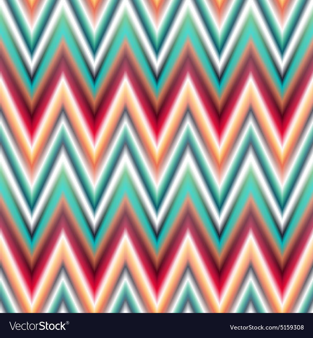 Seamless ikat ethnic pattern