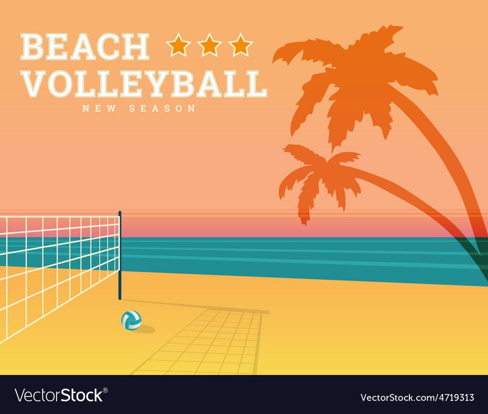 Beach volleyball season