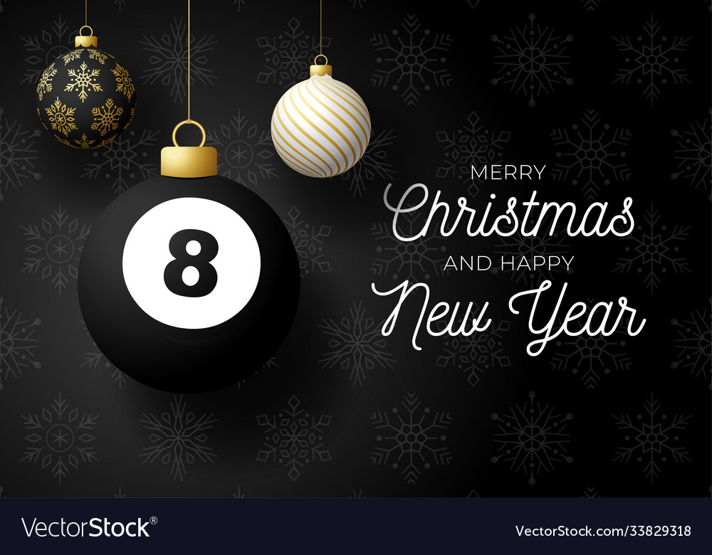 Merry christmas and happy new year luxury sports