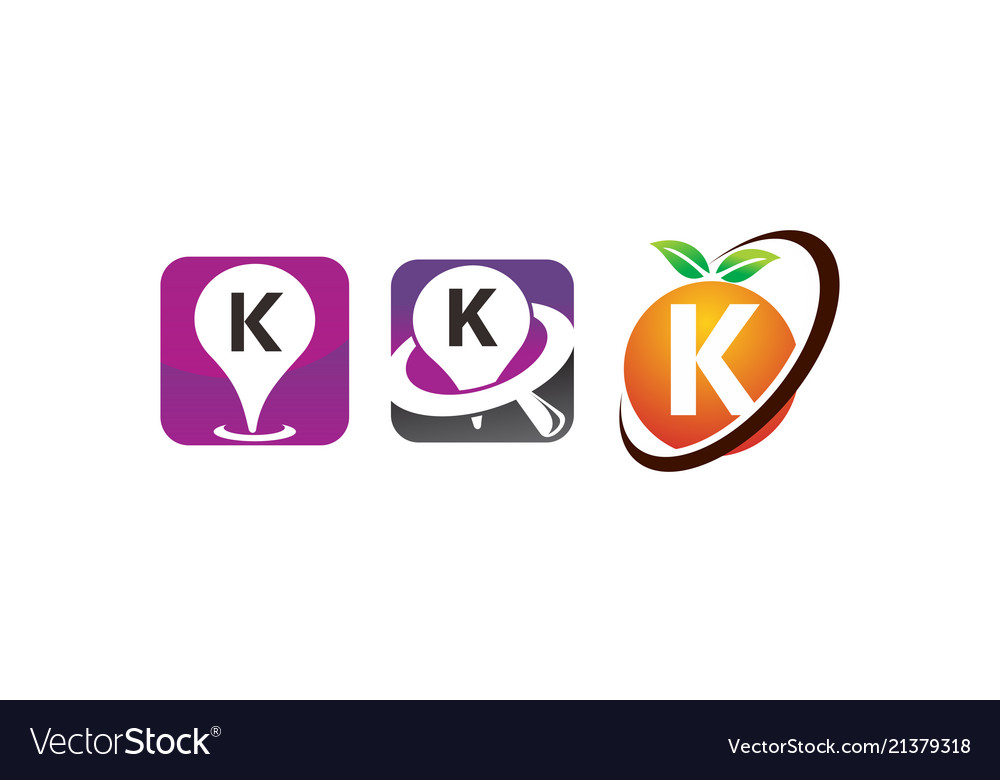 Pin location fruit k template set
