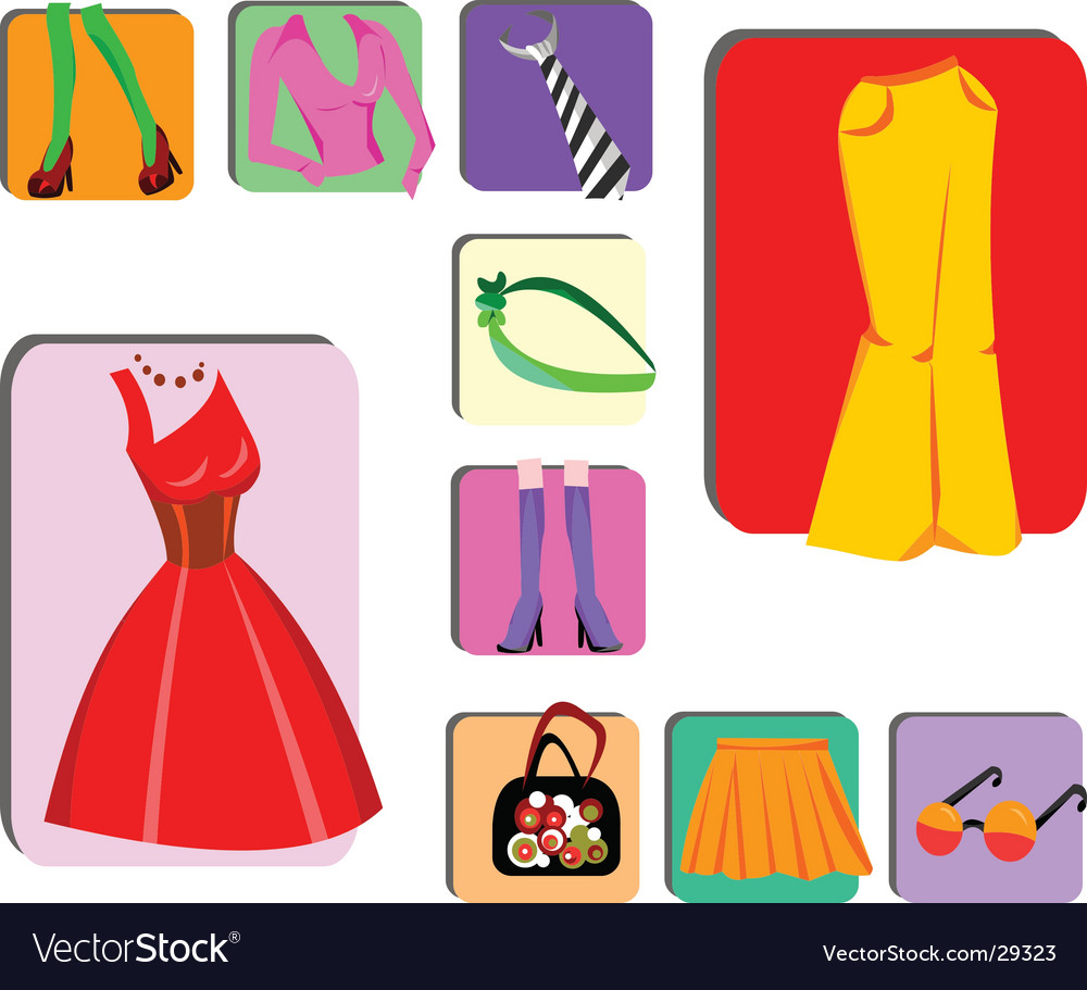 Fashion Design Elements Royalty Free Vector Image